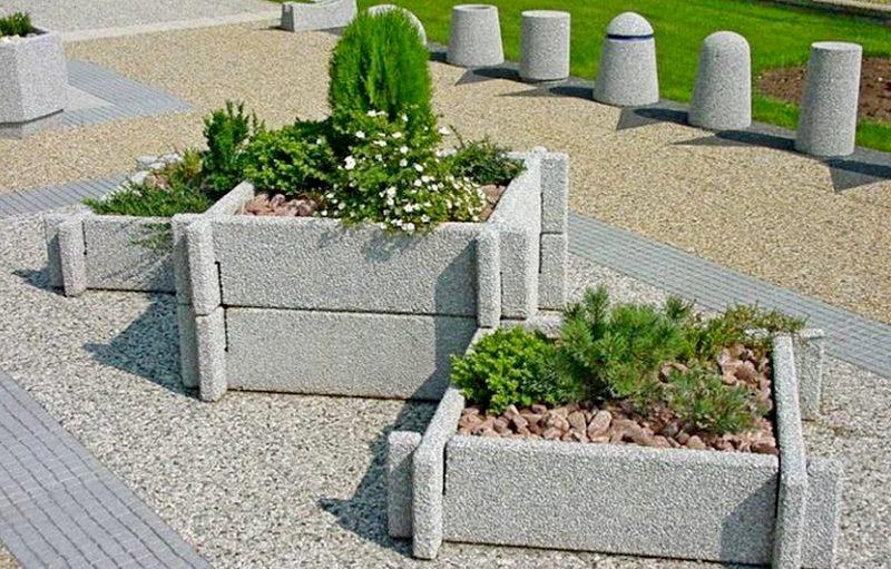 Цветники из бетона купить в спб керамзитобетон цена за м3 с доставкой